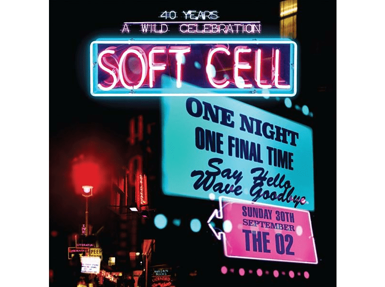 Soft Cell - SAY HELLO, WAVE GOODBYE (LIVE A/T O (CD + DVD Video) von MERCURY