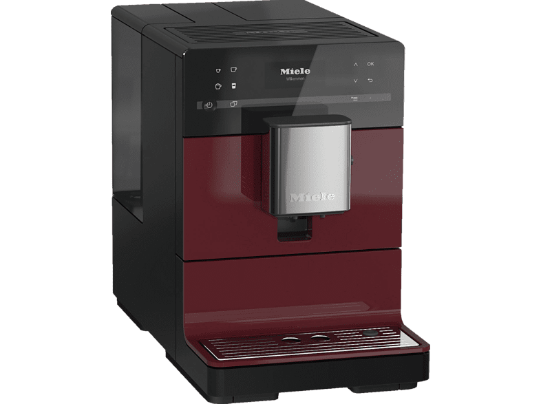 MIELE CM 5310 Silence Kaffeevollautomat in Brombeerrot von MIELE