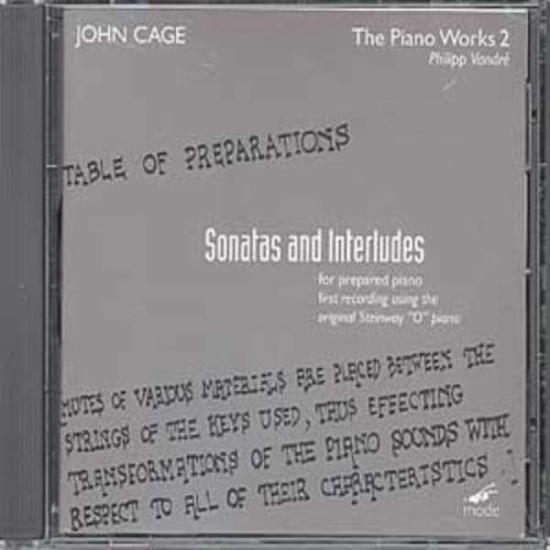 Cage-Edition Vol. 14 (Klavierwerke Vol. 2) von MODE RECORDS