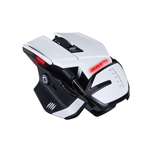 MadCatz R.A.T. 4+ Optical Gaming Mouse, White von Mad Catz