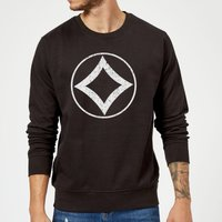 Magic The Gathering Mana Colourless Pullover - Schwarz - L - Schwarz von Magic The Gathering
