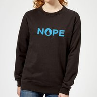 Magic The Gathering Nope Damen Pullover - Schwarz - XS - Schwarz von Magic The Gathering