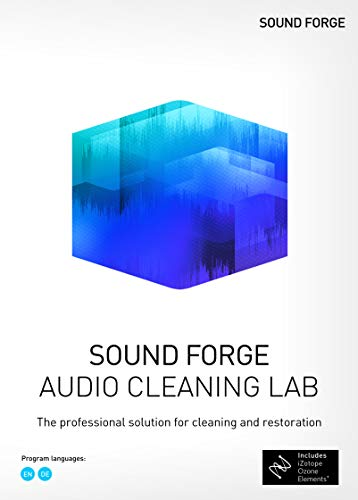 SOUND FORGE Audio Cleaning Lab Box|Standard|1 Device|Perpetual License|PC|Disc|Disc von Magix
