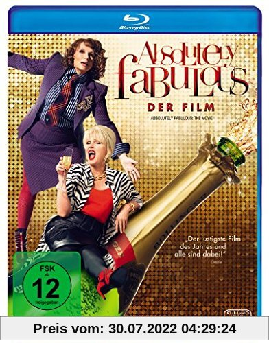 Absolutely Fabulous - Der Film [Blu-ray] von Mandie Fletcher