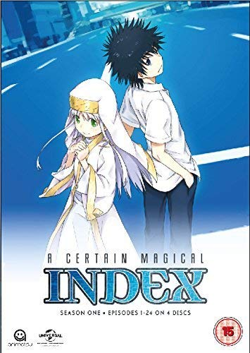 A Certain Magical Index Complete Season 1 Collection (Episodes 1-24) [DVD] [NTSC] [UK Import] von Manga Entertainment