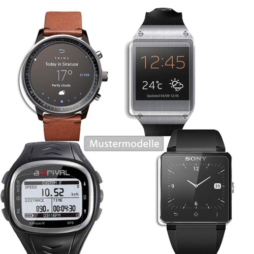 Maoni Anti-Reflex seidenmatte Displayschutzfolie für Magellan Switch Up Smartwatch von Maoni