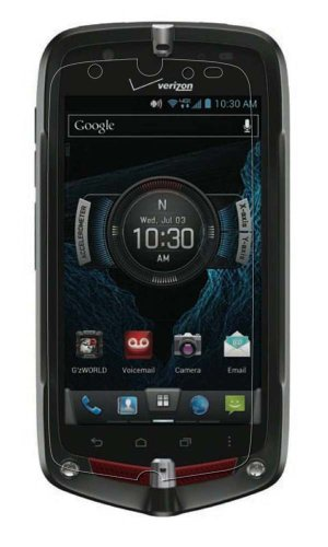 Maoni Antireflex Displayschutzfolie (3-er Pack, Anti-Fingerprint) für Verizon Wireless Casio GzOne Commando 4G LTE von Maoni