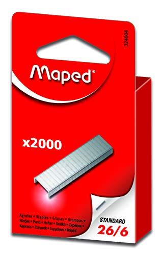 Maped Heftklammern 26//8 verzinkt 5.000 Stück