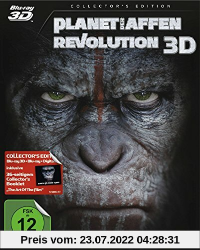 Planet der Affen - Revolution [3D Blu-ray] [Collector's Edition] von Matt Reeves