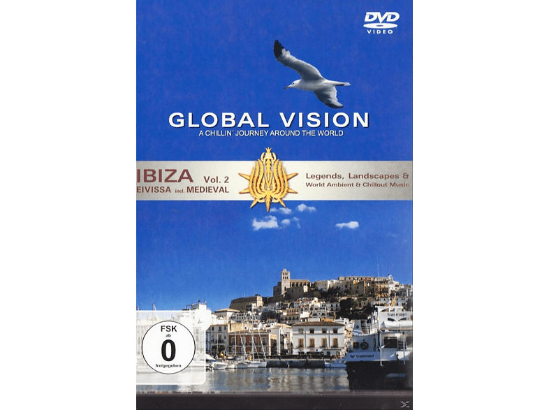Various - Global Vision - Ibiza - Vol. 2 [DVD] von MEMBRAN