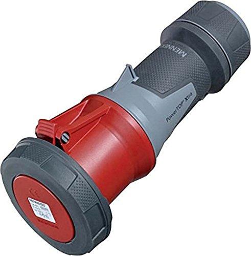 63/A Steckdosen CEE rot 5-polig 400/V Unternehmen 60/Hz 101200046/Kn/öpfen Wandmontage 50 Mennekes IP 67 5/Paket