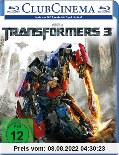 Transformers 3 [Blu-ray] von Michael Bay