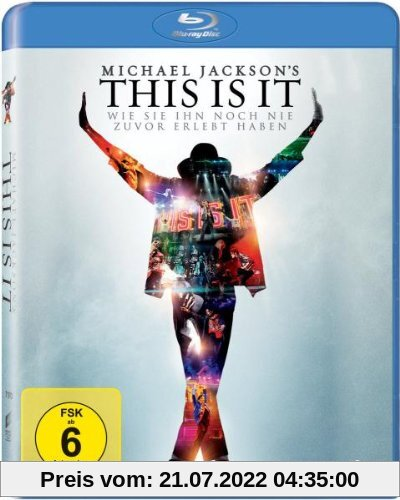 Michael Jackson's This Is It  [Blu-ray] von Michael Jackson