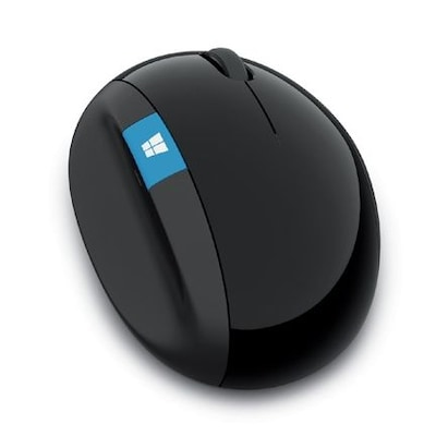 Microsoft Sculpt Ergonomic Wireless Mouse Schwarz von Microsoft