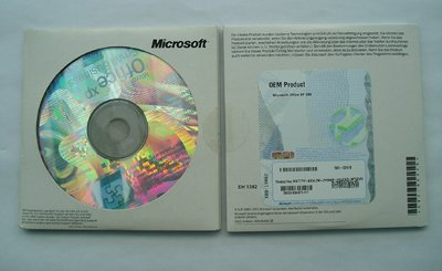 OEM MS Office SBE XP + SP2a CD 1-Pack von Microsoft