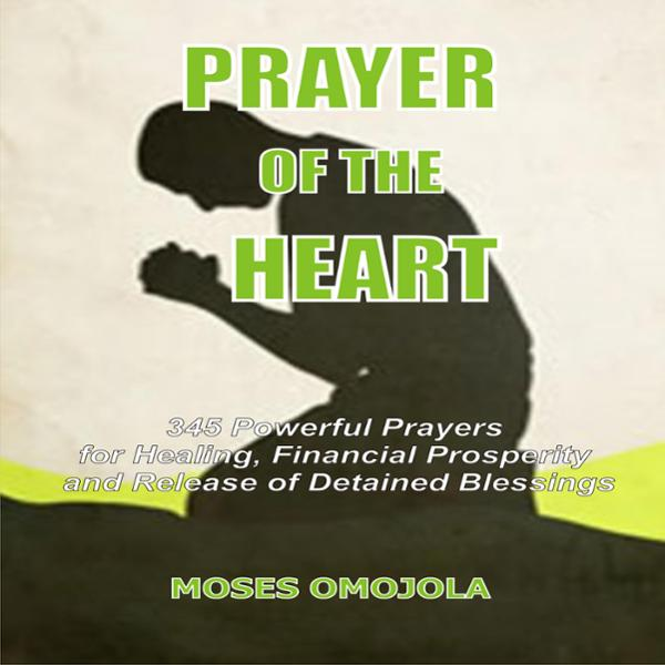 Prayer of the Heart: 345 Powerful Prayers for Healing, Financial Prosperity and Release of Detained Blessings , Hörbuch, Digital, ungekürzt, 89min von Moses Omojola