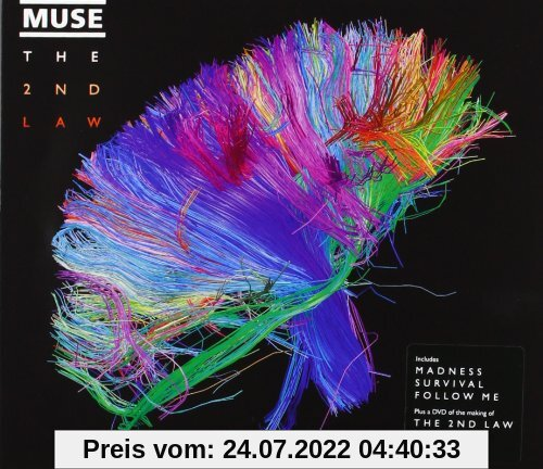 The 2nd Law (Limited Edition CD+DVD im Softpack) von Muse