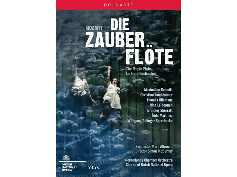 VARIOUS, Chorus Of The Dutch National Opera, Netherlands Chamber Orchestra - Die Zauberflöte [DVD] von OPUS ARTE
