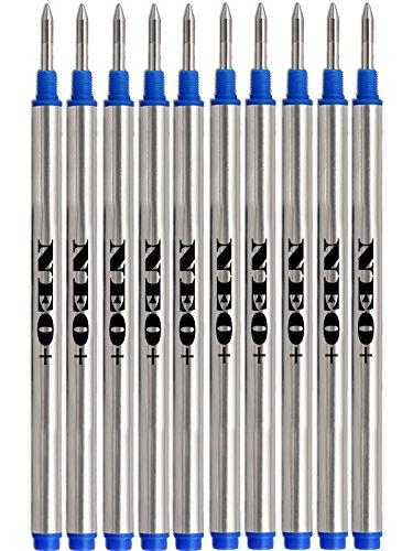 5 x Blau kompatibel Rollerball Parker Quink Ersatzminen mittelgroß