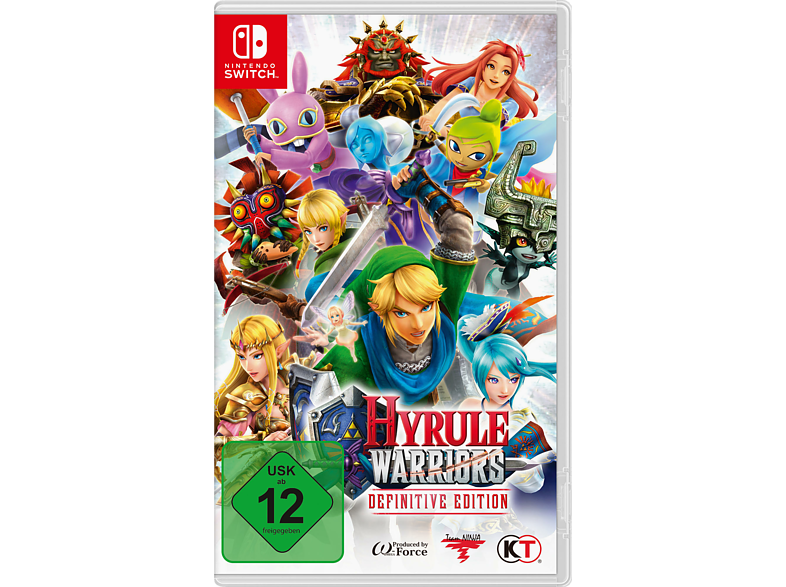 Hyrule Warriors (Definitive Edition) [Nintendo Switch] von NINTENDO OF EUROPE (PL)