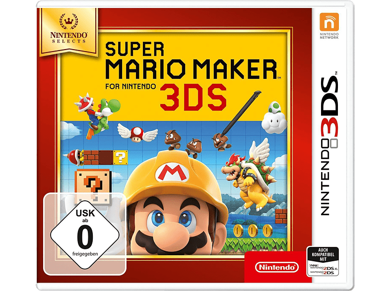 Super Mario Maker for Nintendo 3DS (Nintendo Selects) [Nintendo 3DS] von NINTENDO OF EUROPE (PL)