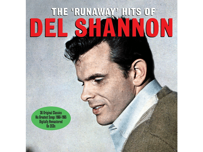 Del Shannon - Runaway Hits Of (CD) von NOT NOW