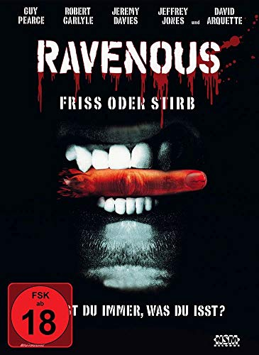 Ravenous - uncut (Blu-Ray+DVD) auf 500 limitiertes Mediabook Cover A [Limited Collector's Edition] von NSM Records