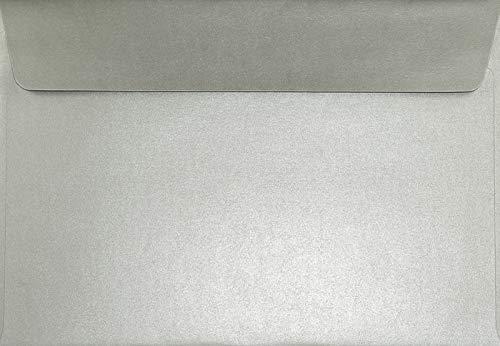 100 Blassrosa Umschläge DIN C5 Sirio Color farbige Kuverts für Hochzeits-Karten