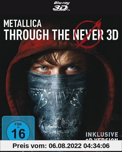 METALLICA - Through the Never (2-Disc Edition) [3D Blu-ray inkl. 2D] von Nimród Antal
