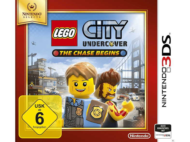 LEGO City Undercover: The Chase Begins (Nintendo Selects) [Nintendo 3DS] von NINTENDO