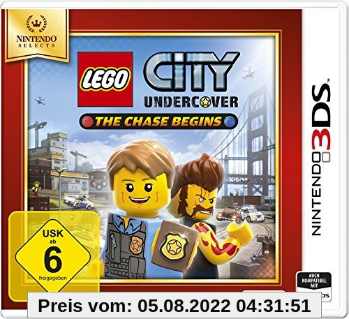 Lego City Undercover: The Chase Begins - Nintendo Selects - [3DS] von Nintendo