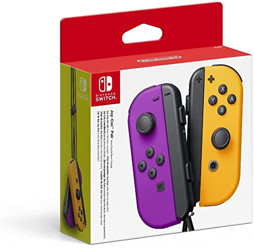 Nintendo Joy-Con 2er-Set, neon-lila/neon-orange von Nintendo