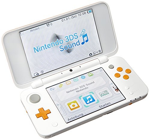 Nintendo New 2DS XL Weiß/Orange (2DS) von Nintendo