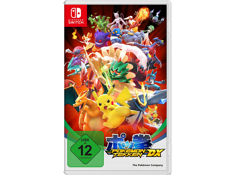 Pokémon Tekken DX [Nintendo Switch] von NINTENDO OF EUROPE (PL)