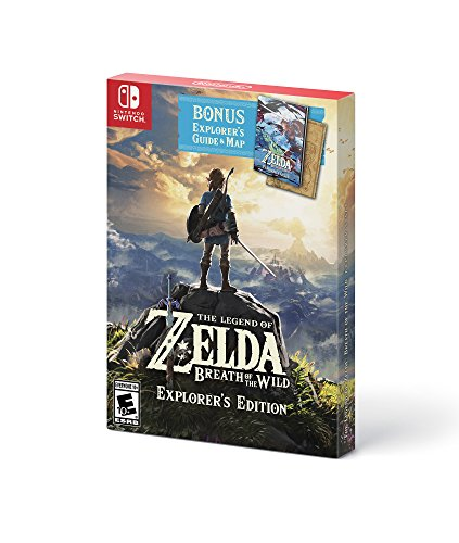 The Legend of Zelda: Breath of the Wild - Explorer's Edition - Nintendo Switch (US IMPORT) von Nintendo