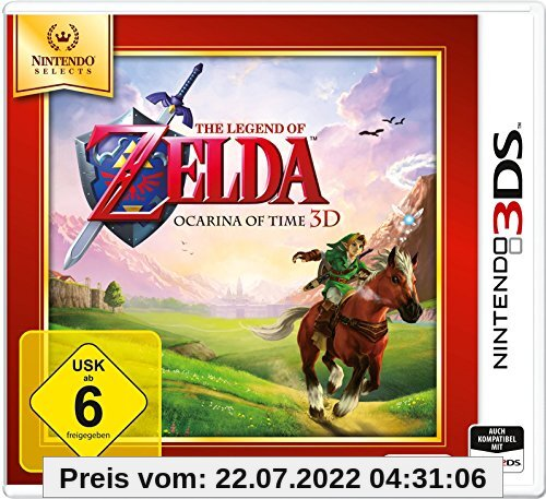 The Legend of Zelda: Ocarina of Time 3D - Nintendo Selects - [3DS] von Nintendo