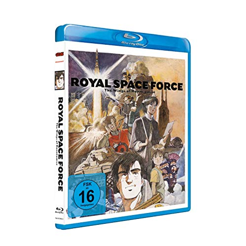 Royal Space Force - Wings of Honnêamise - [Blu-ray] - Uncut von AV Visionen
