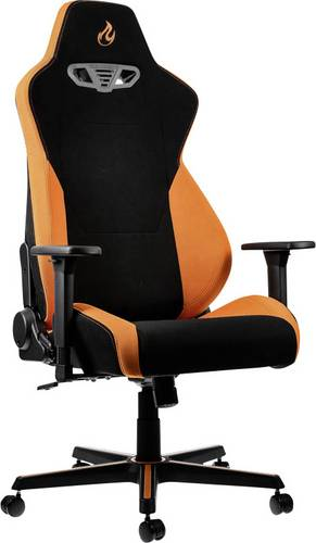 Nitro Concepts S300 Horizon Orange Gaming-Stuhl Schwarz, Orange von Nitro Concepts
