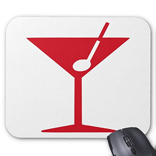 Cocktail - Martini Mouse Pad von Nizefuture