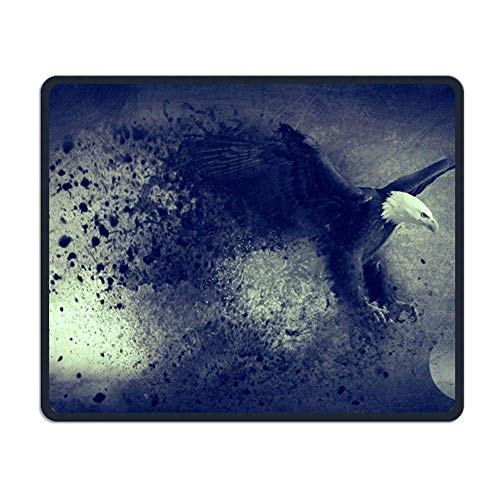 Eagle Gaming Mouse Pad Custom Design Non-Slip Rubber Mouse Mat for Desk,Laptop von Nizefuture