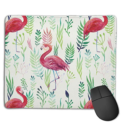 Flamingo Seaweed Locking Mouse Pad Anti-Slip Soft Gaming Rubber Mousepads von Nizefuture