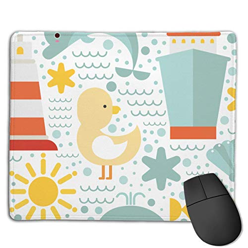 Fun at Sea Locking Mouse Pad Anti-Slip Personality Gaming Rubber Mousepads von Nizefuture