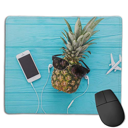 Holiday Pineapple Locking Mouse Pad Anti-Slip Personality Gaming Rubber Mousepads von Nizefuture