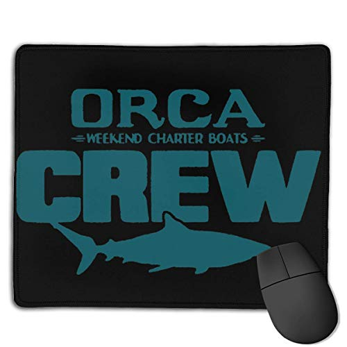 Orca Crew Locking Mouse Pad Anti-Slip Soft Gaming Rubber Mousepads von Nizefuture