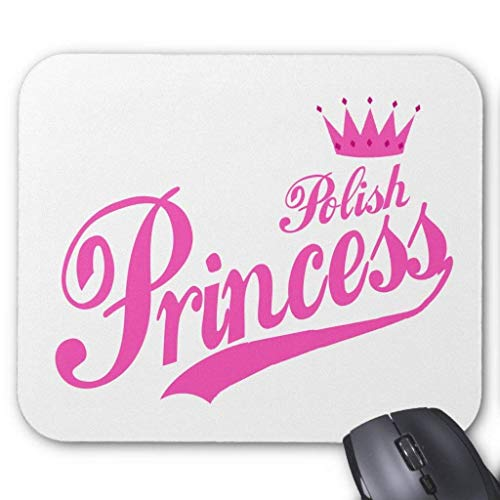 Polish Princess Mouse Pad von Nizefuture