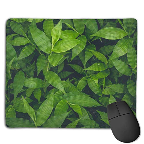 Realistic Green Leaf Locking Mouse Pad Anti-Slip Personality Gaming Rubber Mousepads von Nizefuture