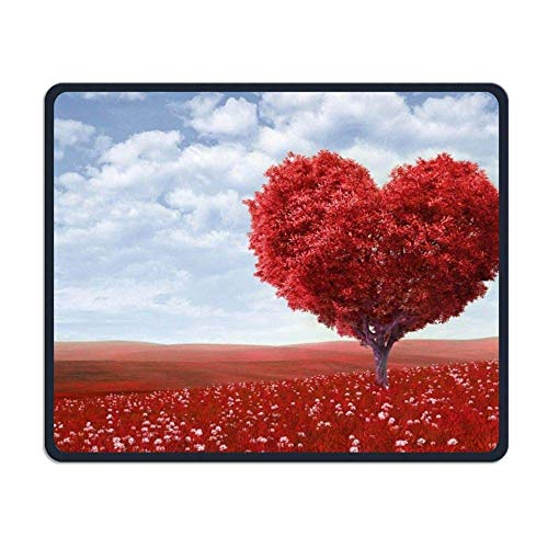 Romance Gaming Mouse Pad Custom Design Non-Slip Rubber Mouse Mat for Desk,Laptop von Nizefuture