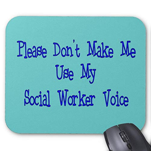 Social Worker Gifts Mouse Pad von Nizefuture
