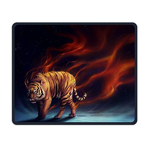 Tiger Gaming Mouse Pad Custom Design Non-Slip Rubber Mouse Mat for Desk,Laptop von Nizefuture