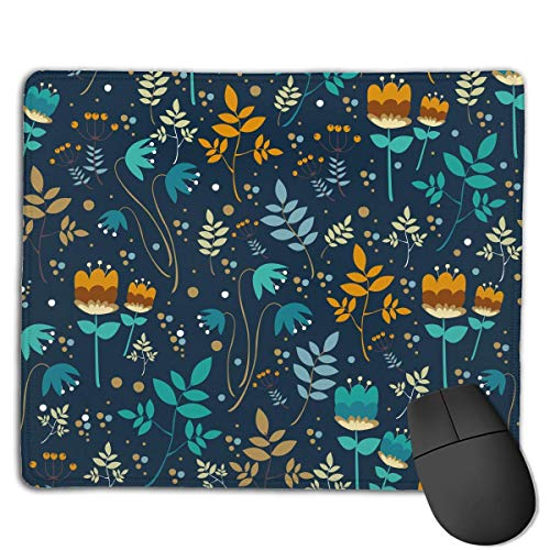 Various Flowers Locking Mouse Pad Anti-Slip Personality Gaming Rubber Mousepads von Nizefuture